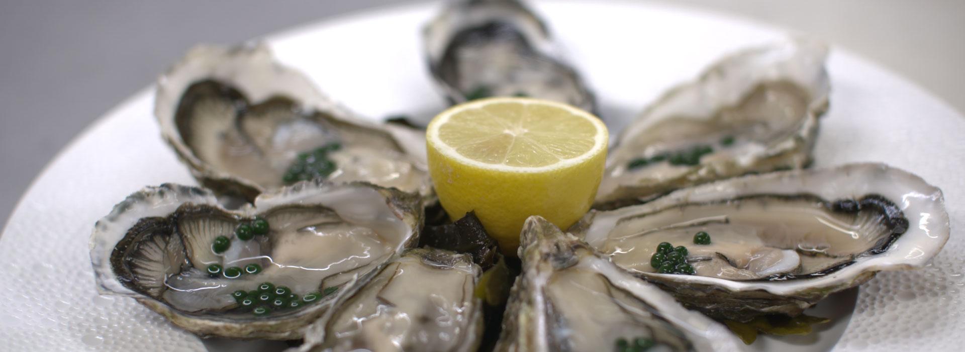 huîtres creuses de Bretagne