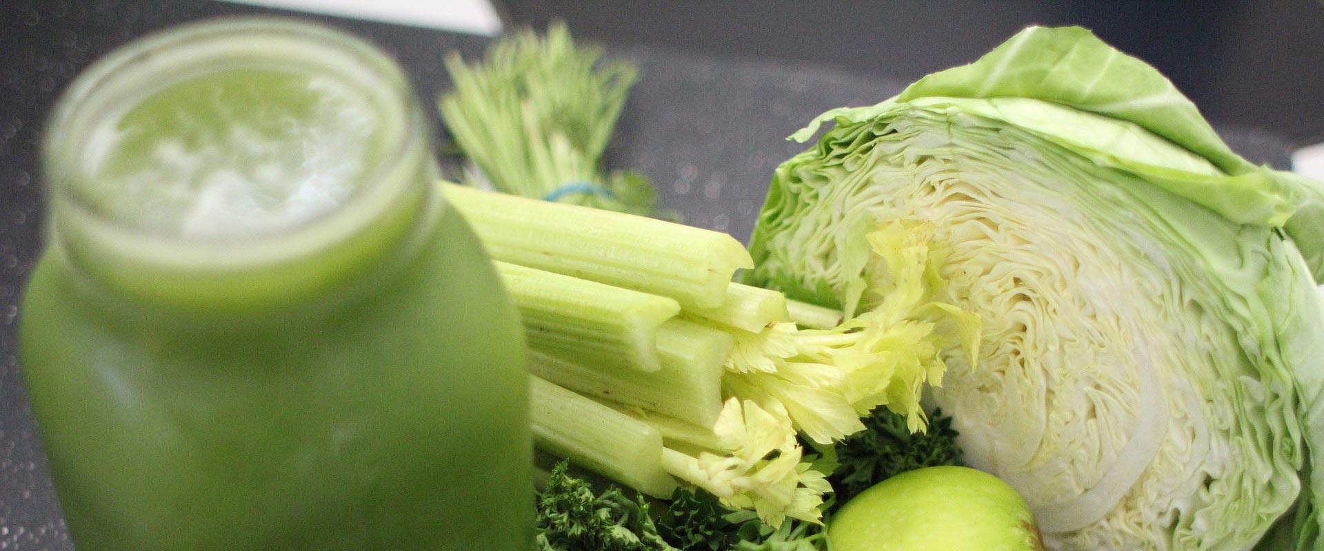 jus de légumes frais