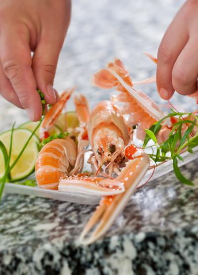 Comment garder la ligne pendant les fêtes ? Photo fruits de mer