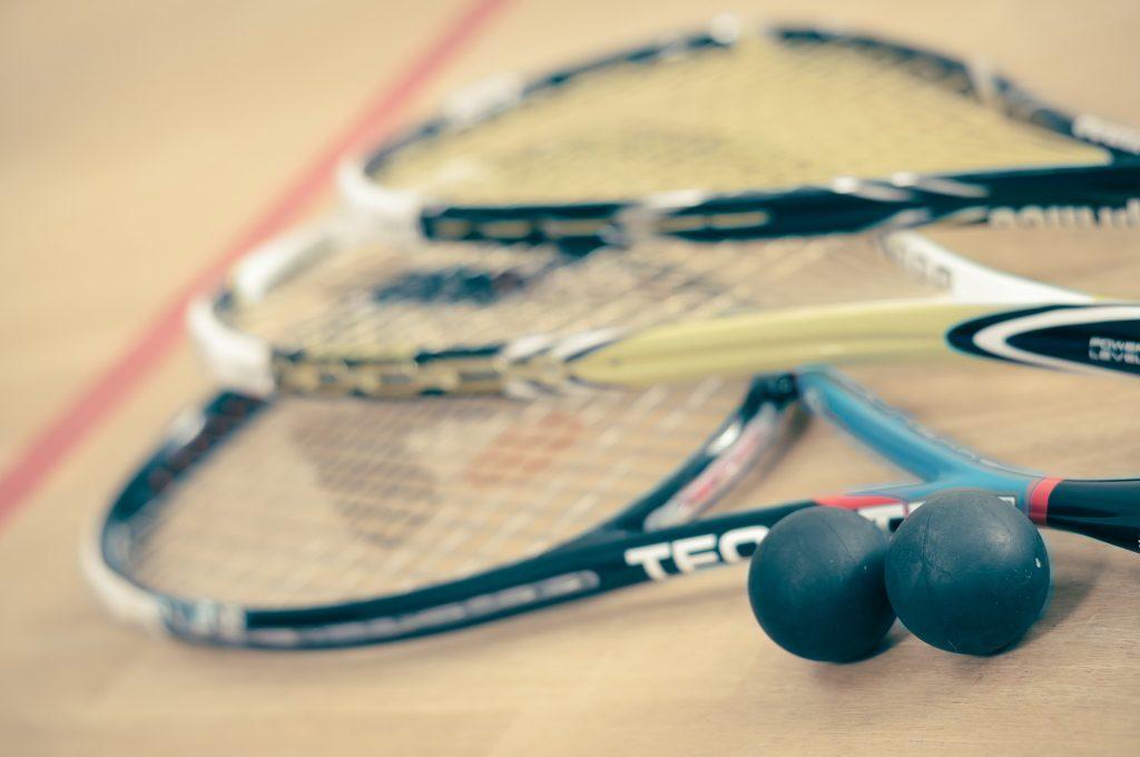 raquettes de squash-brûler des calories