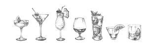 Sélection de cocktail pour les Crazy Fridays