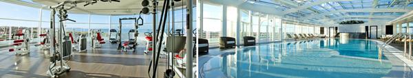 sport et thalasso - salle de fitness + piscine