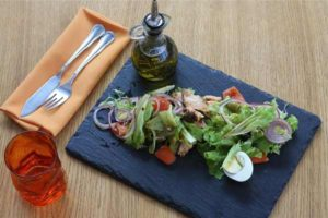 Salade pour la faim